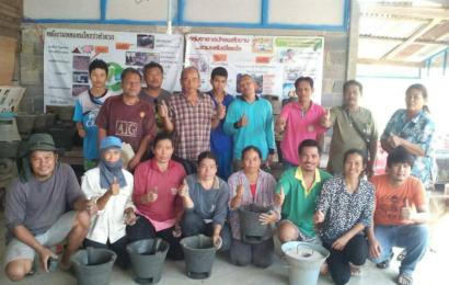 อาสาสมัครพลังงานชุมชนพลิกวิกฤต ปั้นเตาซุปเปอร์อั้งโล่สร้างรายได้สู้ภัยแล้ง