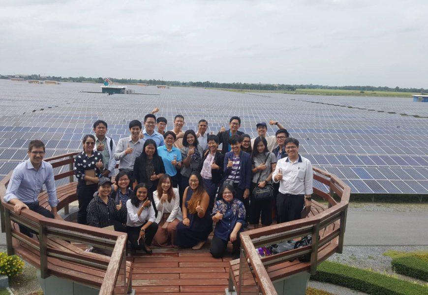 GIZ และกระทรวงพลังงาน จัดการสัมมนาและศึกษาดูงาน: พลังงานทดแทนและเทคโนโลยีด้านพลังงานสมัยใหม่ 9 – 10 สิงหาคม 2561