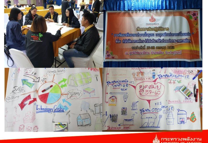 สสช. ก.พลังงาน อบรมพัฒนาทักษะการทำงานในชุมชนเพื่อเท่าทันการเปลี่ยนแปลง