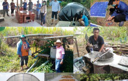 รายชื่อกลุ่มเป้าหมายการทำงานพลังงานชุมชนปี 2564 และย้อนหลัง 5 ปี