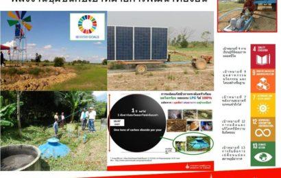 พลังงานชุมชนกับเป้าหมายการพัฒนาที่ยั่งยืน
